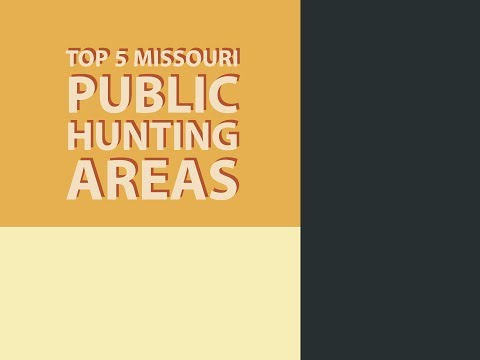 Top 5 Missouri Public Hunting Areas