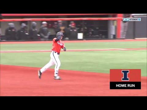 Illinois Baseball Highlights vs. Rutgers 4/15/18