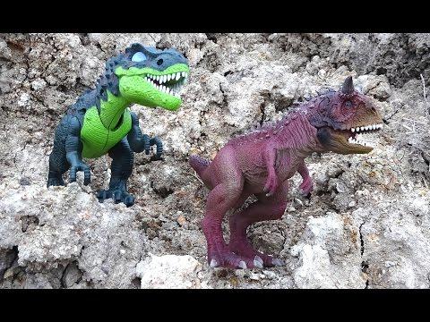 Dinosaur Mountain Adventure Full Movie! Learn Dinosaurs Names - Toys For Kids