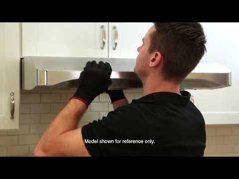 Venmar Chef Series Installation - VCQLA1 - 400 and 600 CFM