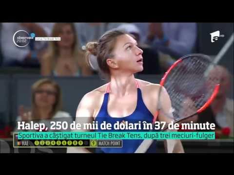 Simona Halep a câștigat turneul Tie Break Tens, de la Madrid