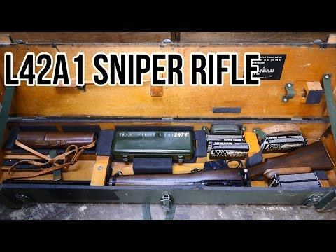 L42A1 Sniper Overview: The Last Lee Enfield