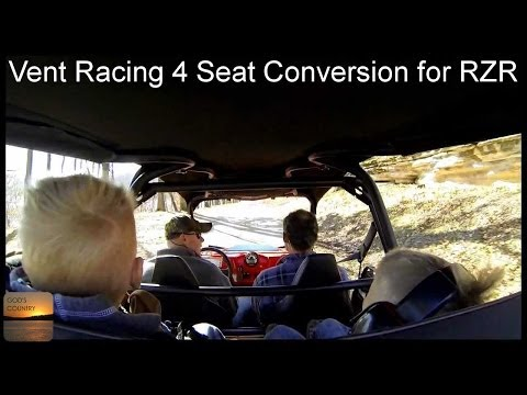 Rear Seat Roll Cage Kit Can Am Commander Rzr Rhino Ran