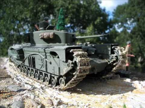 Second World War Plastic Kit Model Dioramas Scale 1/35 by Willem van  Maanen  (English version)