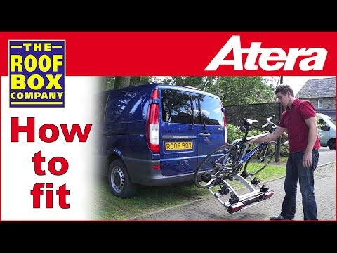 Atera Strada Dl How To Fit Tow Ball Bike Carrier Youtube