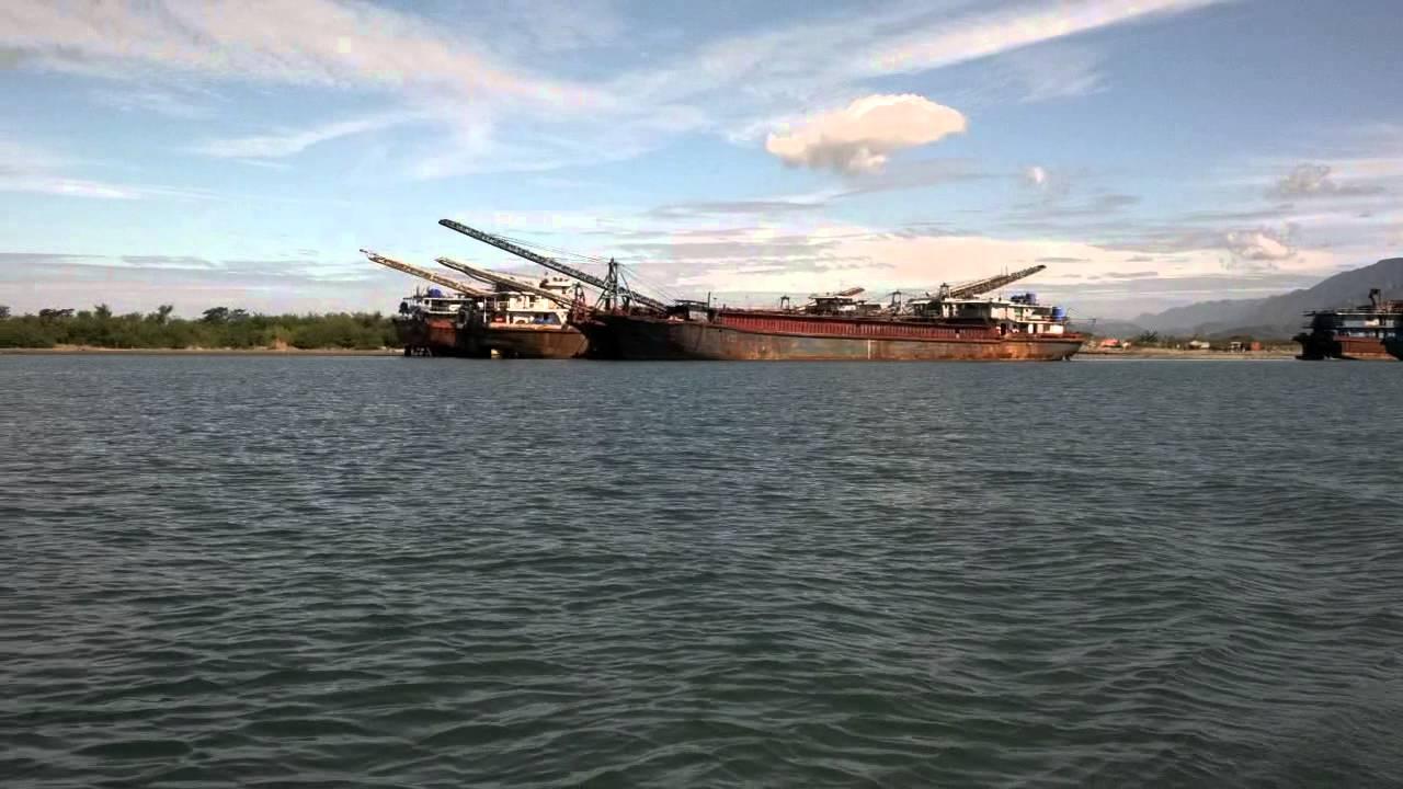 Black sand mining in zambales