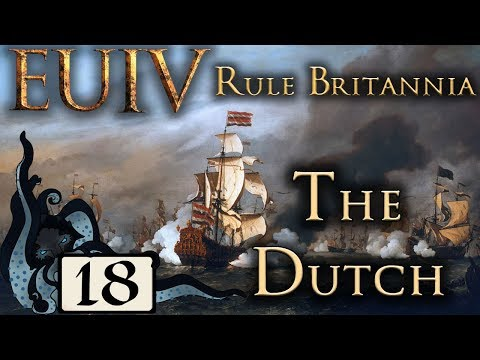First Colony - Europa Universalis IV: Rule Britannia - The Dutch - #18 - (Very Hard)