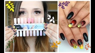 Moje nowe paznokcie i trendy na jesień || SEMILAC