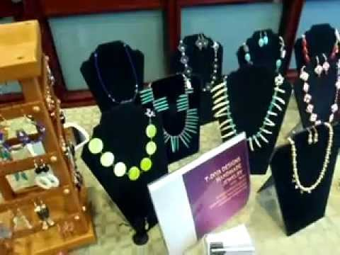 T-Diva Designs Jewelry Table Setup at the Nursing Research Conference