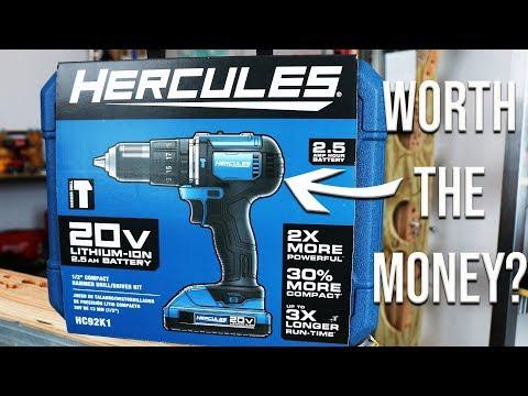 Hercules Drill Set