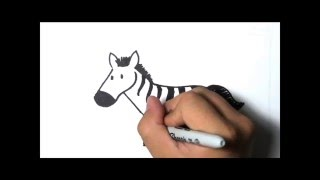 How to Draw - Zebra