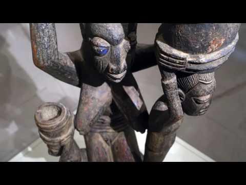 Ise'li Olowe, Veranda Direği (Yorubalar)