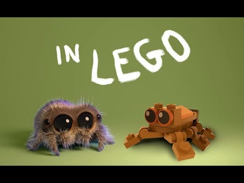 Lucas the Spider - Making in LEGO
