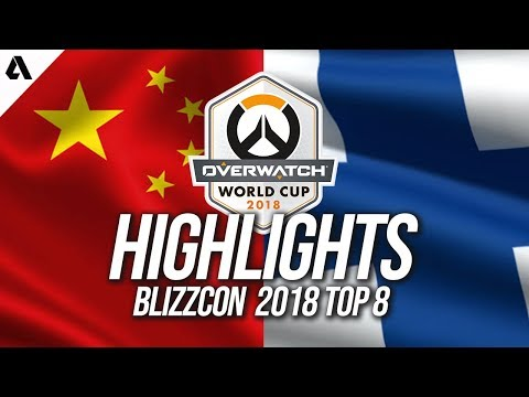 Team China vs Team Finland | Overwatch World Cup 2018 Quarterfinals Highlights thumbnail