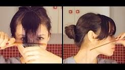 Cómo cortar el flequillo en casa y cuál elegir según el tipo de rostro.