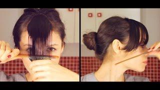 Cómo cortar el flequillo en casa y cuál elegir según el tipo de rostro. thumbnail