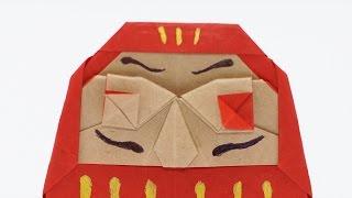 ORIGAMI DARUMA (Jo Nakashima) - Time-lapse