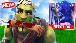 *SPOOKY* ZOMBIE-INFECTED Custom Gamemode in Fortnite Battle Royale! *SEASON 6*