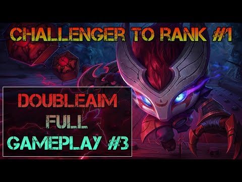 Challenger to rank #1 - Full gameplay #3 - AD Kennen top - Sabke?