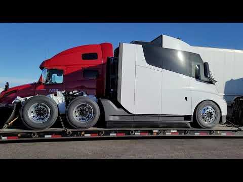 """New Tesla Semi Truck...""""Sneak Peak"""""""
