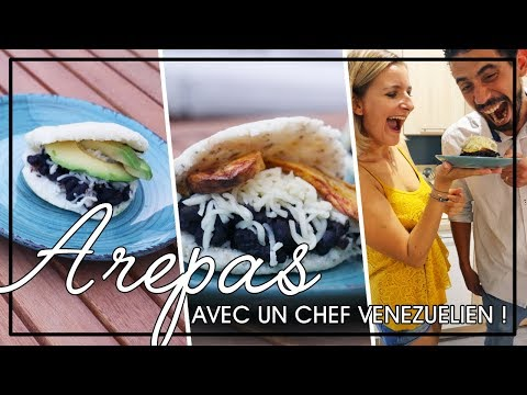 j'apprends-à-faire-des-arepas-avec-un-chef-du-vénézuela-!-#minuteveggie