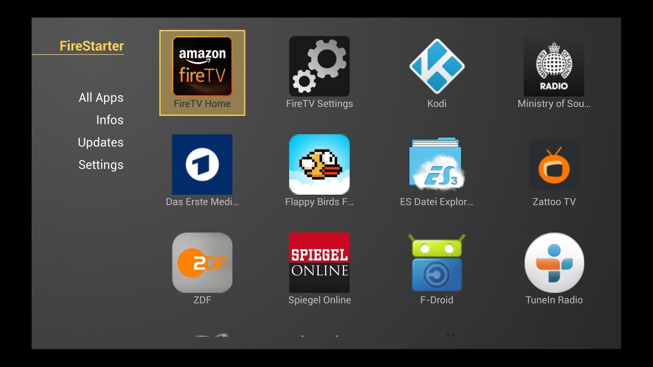 FireStarter Apk Latest Version Download | FireStarter App Kodi For Amazon FireTV 1