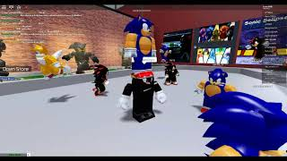 Roblox [SEO] Sonic Simulator Part 2 | TRYING TO GET IN HUT AGAIN + SEEING AN ADMIN