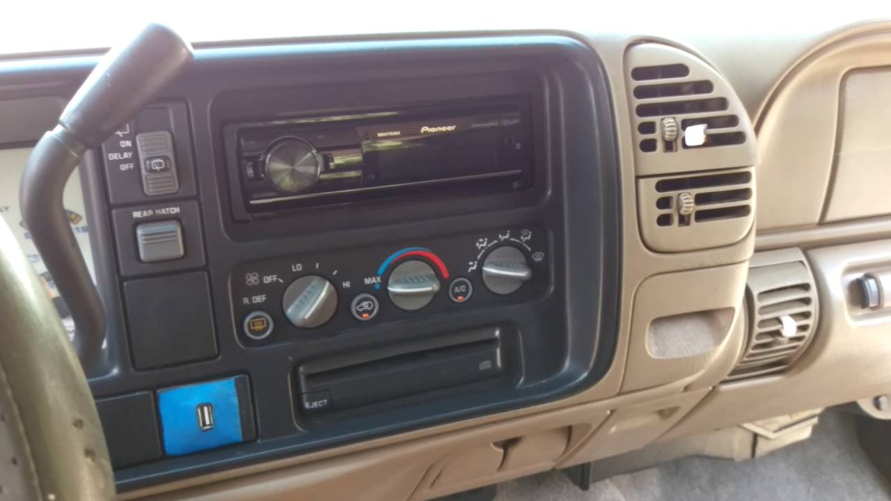 Tahoe 96 chevy tahoe parts : Tahoe » 1998 Chevy Tahoe Parts - Old Chevy Photos Collection, All ...