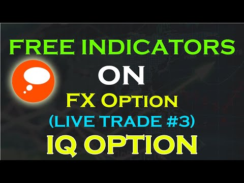 IQ Option: FX Option LIVE Paper Trade #3| NEW ASSETS | NEW INDICATORS | Trade Theory