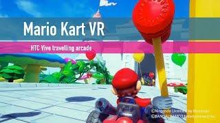 We try Mario Kart in VR
