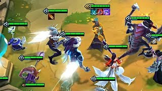 KASSAWIN in Teamfight Tactics! 6 Sorcerers Comp!