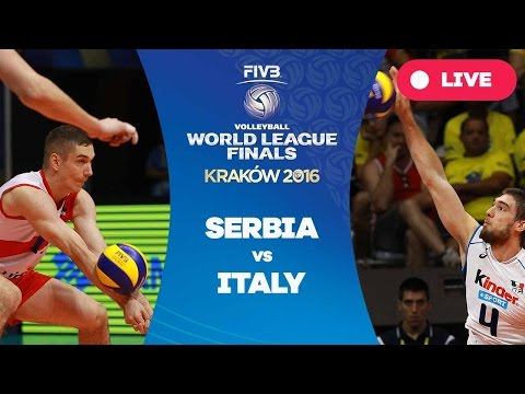 Serbia vs Italy - Group 1: 2016 FIVB Volleyball World League