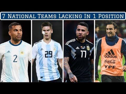 7 National Teams WEAK In One Position