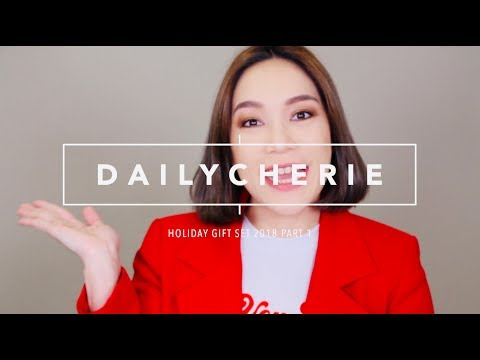 DAILYCHERIE : HOLIDAY GIFT SET 2018 ชุดของขวัญสุดคุ้ม PART 1 - วันที่ 26 Dec 2018