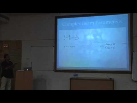 Rana Adhikari - Optics of Fabry-Perot cavities