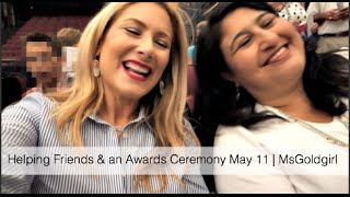 Getting An Award From The Mayor May 11 | Msgoldgirl