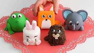 More Mini ANIMAL CAKES! Cutest Cakes EVERRR!