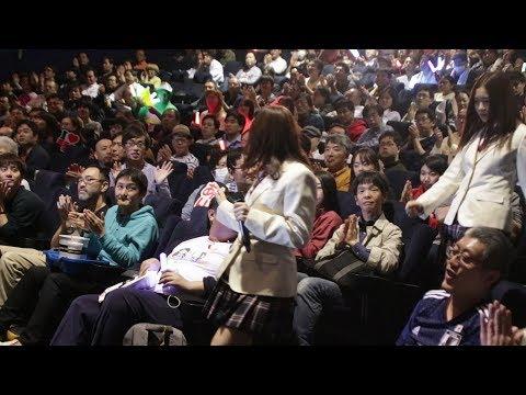SKE48須田亜香里、大場美奈、北川綾巴が映画『アイドル』 初日舞台挨拶に登場!