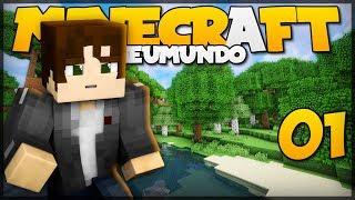 PRIMEIRA NOITE! // Meu Mundo #1 // Minecraft