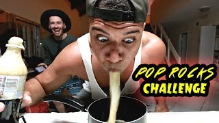IMPOSSIBLE SODA & POP ROCKS CHALLENGE!!! *WORLD'S HARDEST EXPERIMENT*