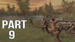 Call of Duty 2 Gameplay Walkthrough Part 9 - British Campaign - Battle for Caen 1/2