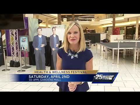 WPBF, Gardens Mall prepare for Health & Wellness Festival