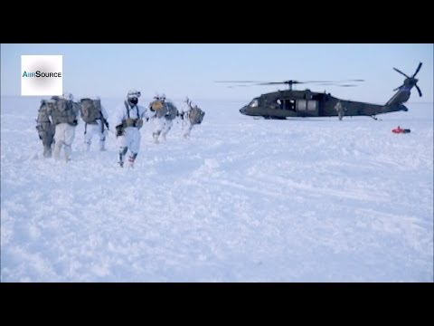 US Army Paratroopers in Arctic Alaska