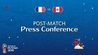 FIFA World Cup™ 2018: France v. Peru - Post-Match Press Conference