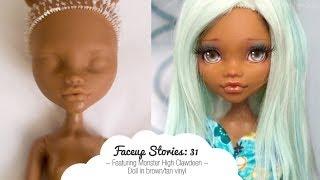 Faceup Stories: 31 Monster High Clawdeen