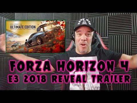 Forza Horizon 4 Reveal Trailer - E3 2018 REACTION