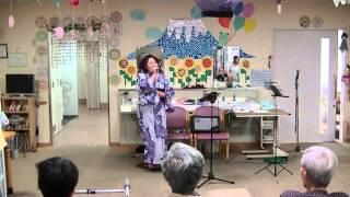 愛知県のコマーシャルソングの女王が歌います。いのちの春 有松デイサー...