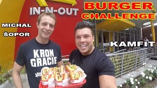 Kamil vs Michal Burger Challenge! In n Out.