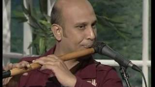 Baqir Abbass Playing Tere Bina Nahin Lagda Dil Mera On Bansuri Flute