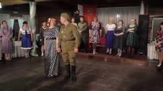 Свадьба в довоенном стиле в Тюмени